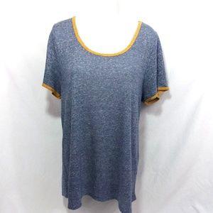 LuLaRoe Classic T Shirt Top Size XL Linen Slub